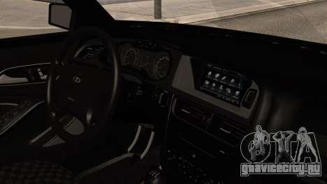 ВАЗ 2115 для GTA San Andreas вид справа
