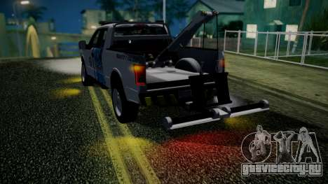 Ford F-150 2015 Towtruck для GTA San Andreas вид сзади