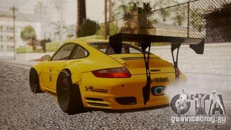 Porsche 997 Liberty Walk для GTA San Andreas вид слева