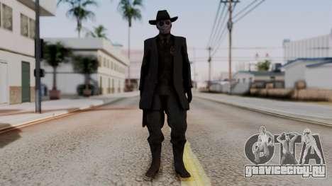 SkullFace Hat для GTA San Andreas второй скриншот