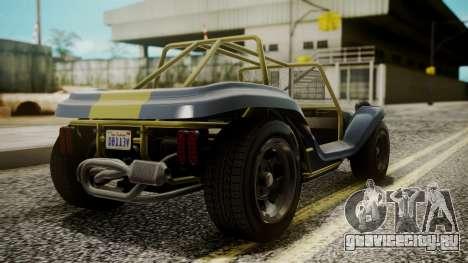 GTA 5 BF Bifta для GTA San Andreas вид сзади