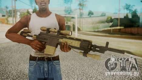Sniper Rifle from RE6 для GTA San Andreas третий скриншот