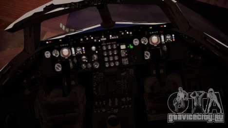 DC-10-30 British Caledonian Charter для GTA San Andreas вид сзади