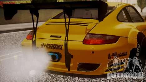 Porsche 997 Liberty Walk для GTA San Andreas вид сзади