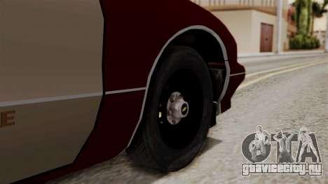 Chevy Caprice Station Wagon 1993-1996 SACFD для GTA San Andreas вид сзади слева