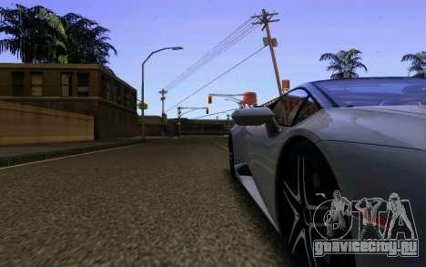 Lamborghini Huracan LP610 VELLANO для GTA San Andreas вид снизу