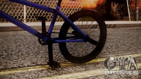 Nueva BMX для GTA San Andreas вид справа
