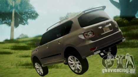 Nissan Patrol IMPUL 2014 для GTA San Andreas вид слева