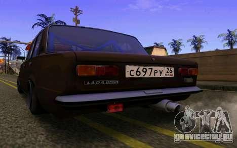 Ваз 2101 Корч для GTA San Andreas вид сзади слева