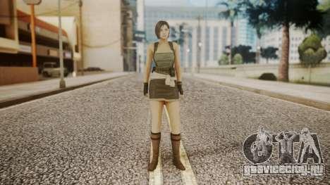Resident Evil Remake HD - Jill Valentine для GTA San Andreas второй скриншот