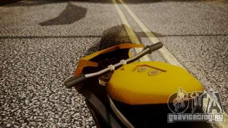 NRG-500 Number 7 Mod для GTA San Andreas вид сзади
