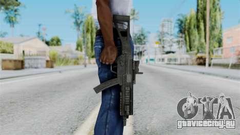 MP5 from RE6 для GTA San Andreas третий скриншот