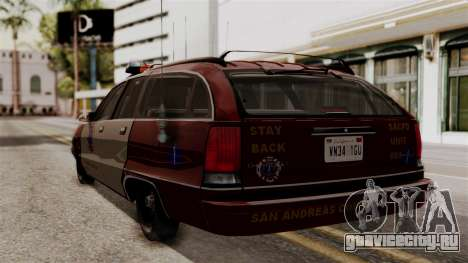 Chevy Caprice Station Wagon 1993- 1996 SAFD для GTA San Andreas вид слева