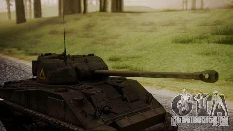 Sherman MK VC Firefly для GTA San Andreas вид справа
