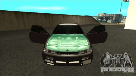 Nissan 200sx Drift для GTA San Andreas вид изнутри