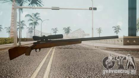 Low Poly Hunting Rifle для GTA San Andreas
