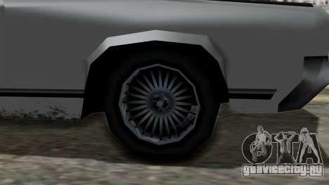 Sabre Turbo from Vice City Stories для GTA San Andreas вид справа
