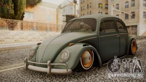 Volkswagen Beetle Aircooled для GTA San Andreas