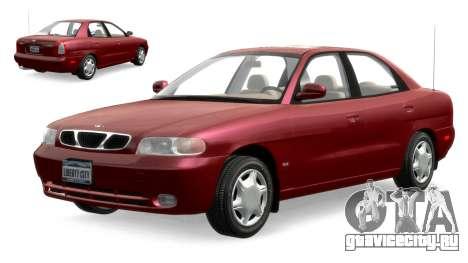 Daewoo Nubira I Sedan SX USA 1999 для GTA 4