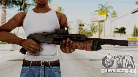 Shotgun from RE6 для GTA San Andreas третий скриншот