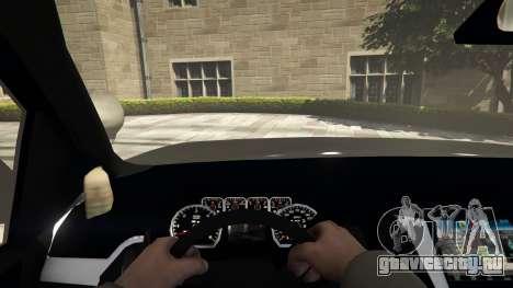 Chevrolet Suburban Sheriff 2015 для GTA 5 вид сзади