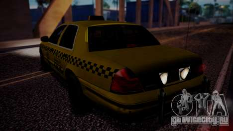 Raccoon City Taxi from Resident Evil ORC для GTA San Andreas вид слева