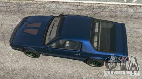 Chevrolet Camaro IROC-Z [Beta 2] для GTA 5 вид сзади