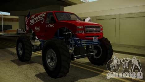 GTA 5 Vapid The Liberator IVF для GTA San Andreas