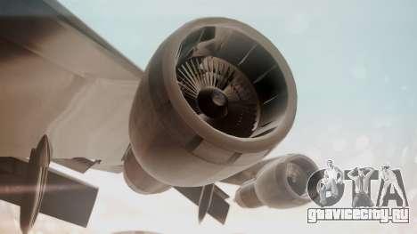 Boeing 747SR All Nippon Airways (NC) для GTA San Andreas вид сзади