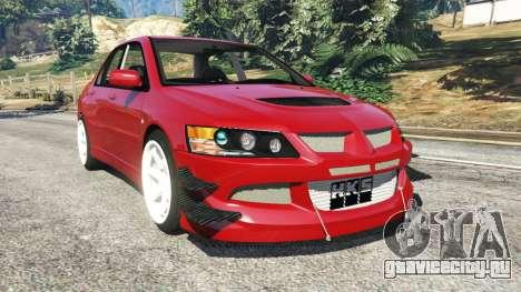 Mitsubishi Lancer Evolution IX Dk для GTA 5