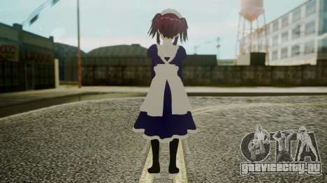 Mey-Rin [Kuroshitsuji] для GTA San Andreas третий скриншот
