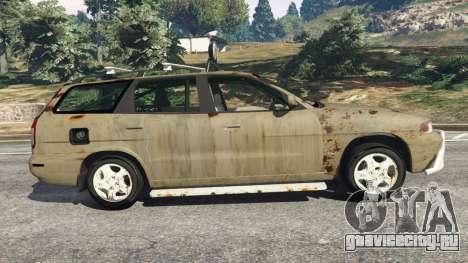 Daewoo Nubira I Wagon CDX US 1999 [Rusty] для GTA 5 вид слева