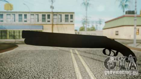 Sawnoff Shotgun (Iron Version) для GTA San Andreas второй скриншот