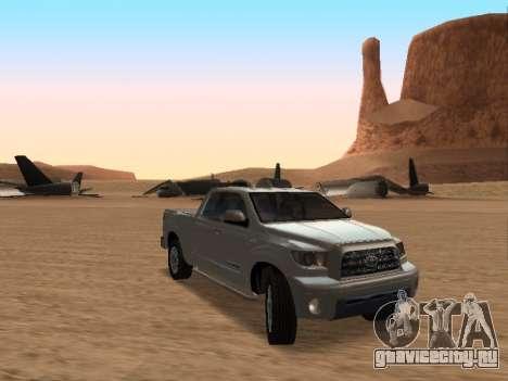 Toyota Tundra для GTA San Andreas