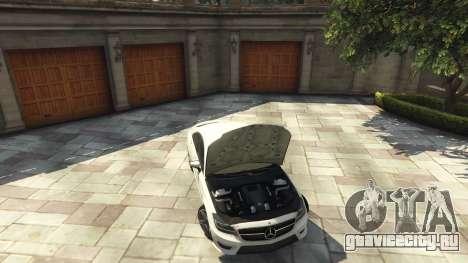Mercedes-Benz CLS 6.3 AMG [BETA] для GTA 5 вид сзади справа