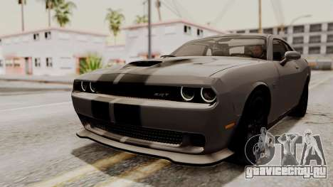 Dodge Challenger SRT Hellcat 2015 IVF PJ для GTA San Andreas