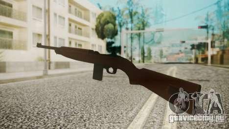 M1 Carbine для GTA San Andreas третий скриншот