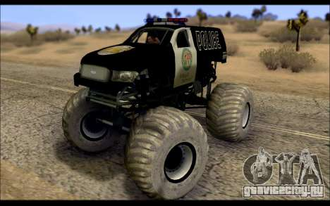 The Police Monster Trucks для GTA San Andreas