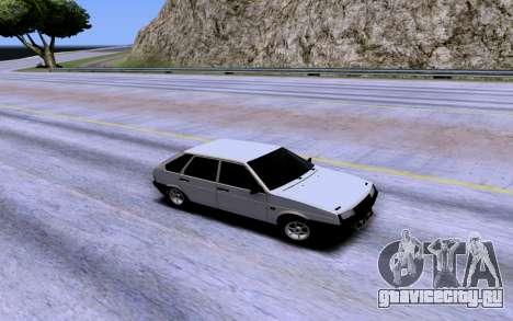 ВАЗ 2109 Турбо для GTA San Andreas вид сверху