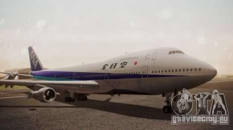 Boeing 747SR All Nippon Airways (NC) для GTA San Andreas