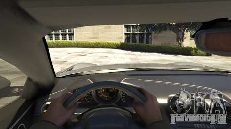 Ferrari F12 Berlinetta [LibertyWalk] v1.1 для GTA 5 вид сзади