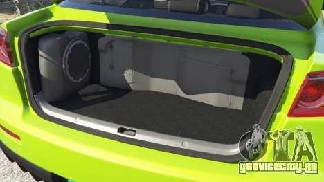 Mitsubishi Lancer Evolution X FQ-400 для GTA 5 вид спереди справа