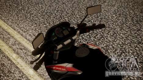 New Mega Pro для GTA San Andreas вид сзади