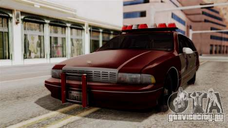 Chevy Caprice Station Wagon 1993- 1996 SAFD для GTA San Andreas