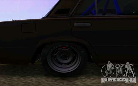 Ваз 2101 Корч для GTA San Andreas вид сзади