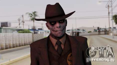 SkullFace Hat для GTA San Andreas