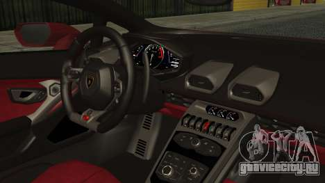 Lamborghini Huracan LP-610 VELLANO для GTA San Andreas вид справа