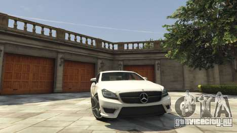 Mercedes-Benz CLS 6.3 AMG [BETA] для GTA 5
