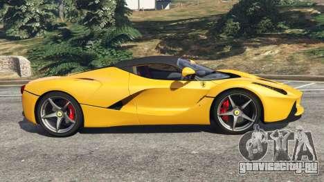 Ferrari LaFerrari 2013 v3.0 для GTA 5 вид слева