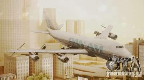 Boeing 747-100 Pan Am Clipper Juan T. Trippe для GTA San Andreas